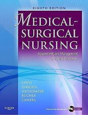 Medical-Surgical Nursing by Lewis 8th Edition (ALMOST IDENTICAL TO 9TH EDITION)