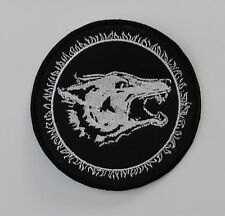 WATAIN EMBROIDERED PATCH SATANIC WARMASTER TSJUDER BATHORY PEST DARK FUNERAL