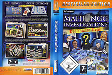 Al mahjong Investigations: bajo sospecha (PC, 2009, DVD-box)