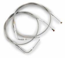 Barnett Stainless Clear-Coated Throttle Cable 102-30-30015