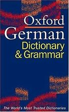 The Oxford German Dictionary and Grammar-ExLibrary