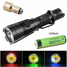 NiteCore MH27 1000 Lm Cree XP-L HI V3 LED Rechargeable Flashlight w/ Battery