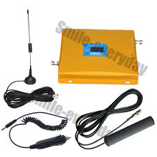For Car 900/2100 MHz Dual Band GSM WCDMA Mobile Phone Signal Booster Amplifier