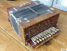 N. l0834 fisarmonica ~ Schiffer pianoforte in legno ~ con schnitzarbeiten/molto vecchia!!!