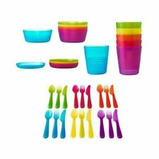 Ikea 36-piece Dinnerware Set, Assorted Colors New