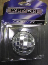 New Mini 2.5' Disco Ball Car Rear View Mirror Hanger Ornament Party Favor