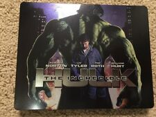 The Incredible Hulk Steelbook (Blu-ray Disc) Zavvi Exclusive NEW