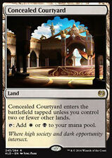 MTG CONCEALED COURTYARD - CORTILE NASCOSTO - KLD - MAGIC