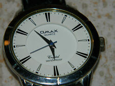 pour pieces OMAX crystal WATCH QUARTZ for parts Watch MONTRE uhr JAPAN vintage