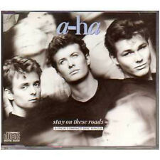 "★ MAXI CD A-ha Stay on these roads 3"" 4-Track jewel case RARE 1988 ★"