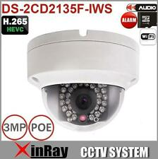 Hikvision Multi-language DS-2CD2135F-IWS Wifi 1080P POE IP Wireless Camera 4mm
