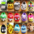 Anime Eevee Pikachu Stitch LOL slipper Cartoon Ironman Luna Warm Slippers 3d