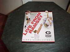 2001 Georgia Bulldogs Women's Volleyball Media Guide