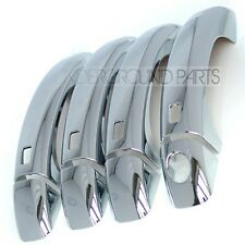 AUDI A3 A4 A5 CHROME STYLING EXTERIOR DOOR HANDLES COVERS TRIMS KIT SET S3 S4 S5