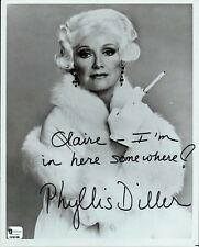 PHYLLIS DILLER Signed Photo