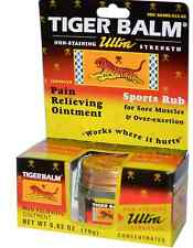 NEW TIGER BALM PAIN RELIEVING OINTMENT ULTRA STRENGHT LONG LASTING DAILY CARE