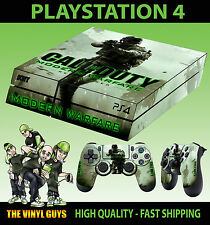 PS4 Skin Call Of Duty Modern Warfare 02 COD Sticker + 2 X Pad decal Vinyl LAY