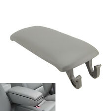 For 2000-2006 Audi A4 S4 A6 Leather Armrest Center Console Box Lid Cover Gray