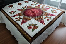 Quilts Bedspread,Coverlet,King Size, 100% Handmade!!!