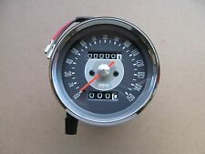 99-0159 1966-70 BSA TRIUMPH AJS 1.25:1 SPEEDOMETER CLOCK - MPH - GREY FACE