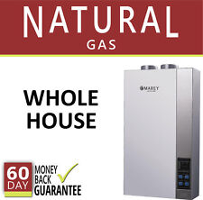 Tankless Hot Water Heater Natural Gas NG 5.4 GPM Direct Vent Self-Modulating