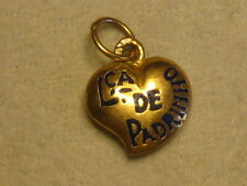 A NEW PORTUGUESE 19.2 KT GOLD Lca de PADRINHO  HEART FROM PORTUGAL #03-0157