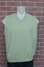MENS~ADIDAS~GOLF VEST~LIGHT GREEN ~CLIMASHELL WIND SIZE L