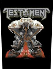 Testament Brotherhood of the Snake Sew-on back patch 602697 #