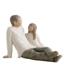 New & Boxed Willow Tree Figurine child 'Father and Daughter' #26031