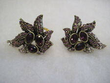 "HEIDI DAUS ""Entrance Maker"" Omega-Pierced Earrings (Orig.$79.95)"