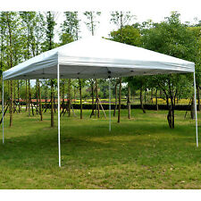 13'x13' Outsunny Pop-Up Canopy Outdoor Sun Shade Party Tent Gazebo Reinforced