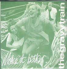"""45T 7"""" : the Gravy Train: make it better + 2. turntable friend EP indie"""
