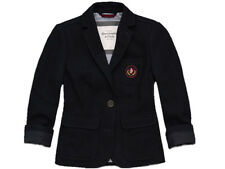 Abercrombie & Fitch Women's Keegan Blazer Jacket Navy L