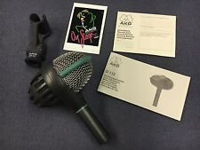 AKG D112 Bass Drum Microphone Made in Austria