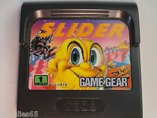 SLIDER SEGA GAME GEAR SLIDER GAME GEAR