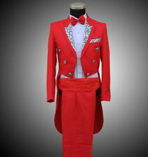 Mens SUIT&PANTS Wedding Formal Tail Folwer Trouse Tuxedo Party Jacket New Coat