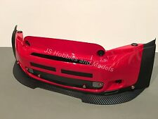 Losi 5ive Mini WRC - JSP Alloy Front Splitter / Spoiler with Fixings Carbon Type