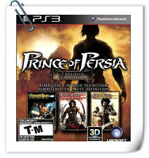 3 IN 1   PS3 SONY PlayStation PRINCE OF PERSIA TRILOGY HD Action Ubisoft