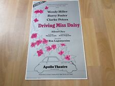 DRIVING Miss DAISY by Alfred UHRY Original APOLLO Theatre Poster