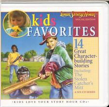New YOUR STORY HOUR KIDS FAVORITES 6 Audio CDs 14 Character-Building Stories