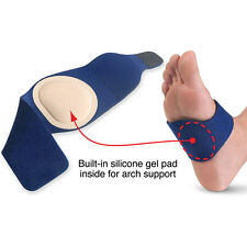 NEW Arch Support Silicone Gel Pronation Foot Wrap LG/XL