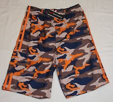 "Jantzen Boys Board Shorts Sz 16 28"" -30"" Waist Camo Mesh Liner Support MSRP $45"