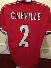 Manchester United Camisa-G. Neville Talla L