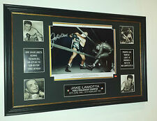 *** NEW Jake Lamotta SIGNED Photo Picture Autograph  Display **