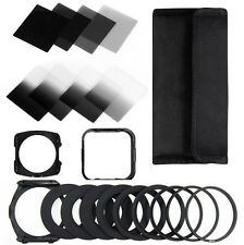 Zomei ND2+4+8+16+Color Square Filter Kit Neutral Density for Cokin P Whole Set