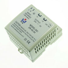 New 45W Din Rail Mounted 24VDC 2A Output Industrical Power supply Supplier