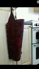 Hand made leather archery quiver