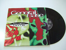 "General Base ‎– I See You (Remix) - Disco Mix 12"" Vinile ITALIA 1995 Techno"