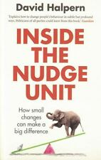 Inside the Nudge Unit by David Halpern NEW