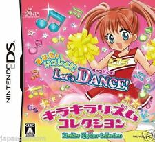 Used DS Kirakira Rhythm Collection Let's Dance NINTENDO JAPANESE IMPORT